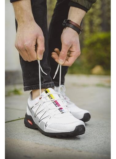 Oksit Filling 756 Erkek Sneaker Beyaz